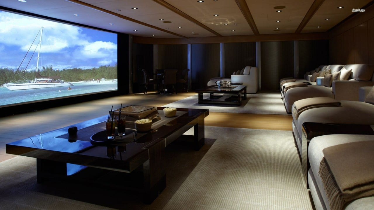 THE LATEST TECHNOLOGY IN HOME THEATRE SYSTEMS